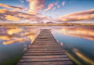 Painel Fotográfico Paisagem Lago 8-958