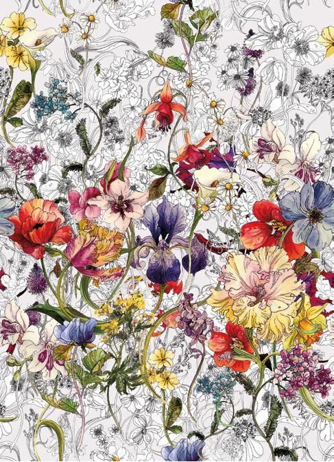 Painel Fotográfico de Flores | Ref:4-201