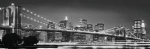 Painel Fotográfico Brooblyn New York | Ref: 4-320 3.68m Largura x 1.27m Altura