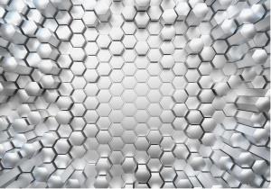 Painel Fotográfico hexagonal 3d   Ref: 8-206