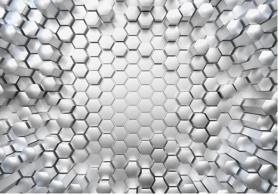 Painel Fotográfico hexagonal 3d | Ref: 8-206