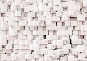 Painel Fotográfico Cubos Brancos 3d   Ref: 8-207