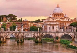 Painel Fotográfico Paisagem de Roma 8-932