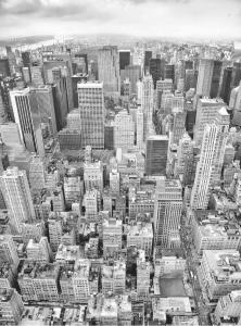 Painel Fotográfico Visão Panorâmica de New York | Ref: XXL2-021