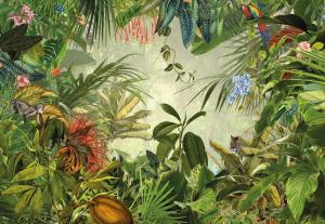 Painel Fotográfico Selva Verde | Ref: XXL4-031 - Medidas: 3.68m x 2.48m