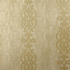 papel de parede caramelo, papel de parede com arabescos dourados papel de parede delicado e refinado, Papel de Parede TNT Importado