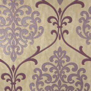 papel de parede roxo e lilas, papel de parede vinho, Papel de Parede Super Lavável