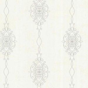papel de parede bege, papel de parede arabesco, papel de parede creme, papel de parede com palha, papel de parede arabesco em prata