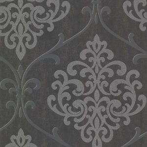 papel de parede com aspecto de couro, papel de parede preto e  branco, papel de parede bege e branco. papel de parede com arabescos em cinza brilhante e chumbo, papel de parede Vinílico