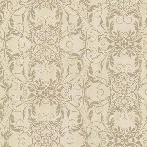 papel de parede dourado e bege, papel de parede provençal, papel de parede estilo sntigo