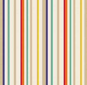 Papel de Parede listrado colorido - Ref: 6204
