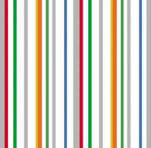 Papel de Parede Listrado colorido - Ref: 6207