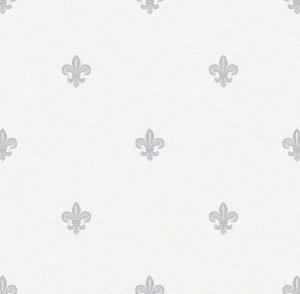 Papel de Parede Flor de Lis - Ref: 6229