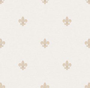 Papel de Parede Flor de Lis - Ref: 6231