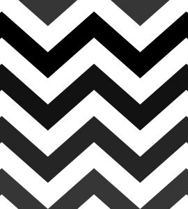 Papel de Parede Chevron preto e branco - Ref: 6236