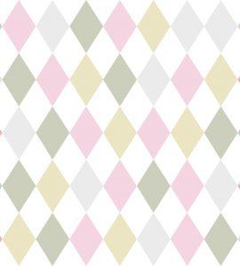 Papel de Parede Geométrico Colorido - Ref: 6239
