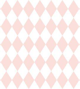 Papel de Parede Geométrico Rosa - Ref: 6240