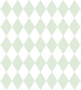 Papel de Parede Geométrico Verde - Ref: 6241