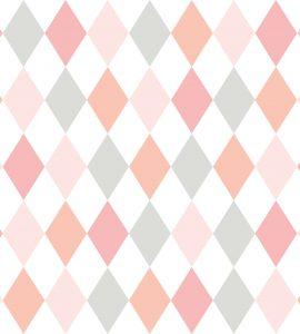 Papel de Parede Infantil Geométrico - Ref: 6243