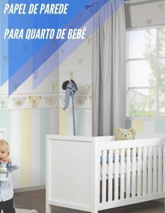 papel de parede para quarto de bebe