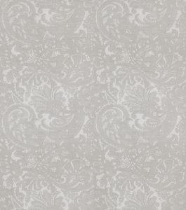 Papel de Parede arabesco floral cinza