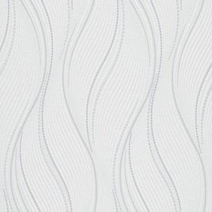 Papel de Parede Ondulacao Branco Gelo 10022-01
