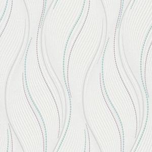 Papel de Parede Ondulacao branco 10022-05