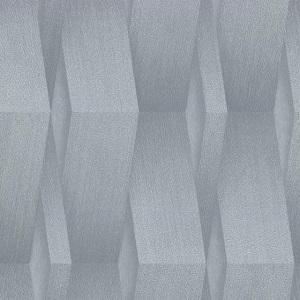 Papel de Parede Ondulado cinza claro 10046-10