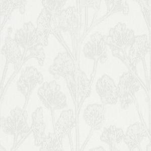 Papel de Parede Ramos flores branco 10029-10