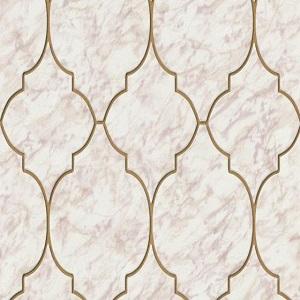 Papel de Parede azulejo bege 6391-05