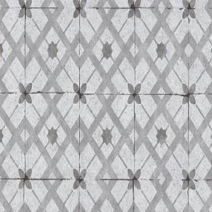 Papel de Parede azulejo cinza claro 6366-15