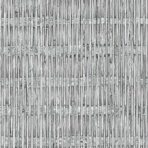 Papel de Parede estilo bambu cinza 6393-10