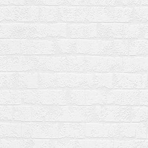 Papel de Parede estilo tijolinhos branco 5372-10