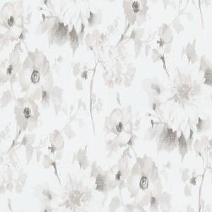 Papel de Parede flores fundo branco 10051-31