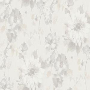 Papel de Parede flores off white 10051-14