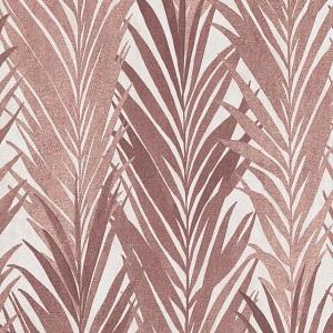 Papel de Parede folha Palmada vermelho borbonha 10031-11