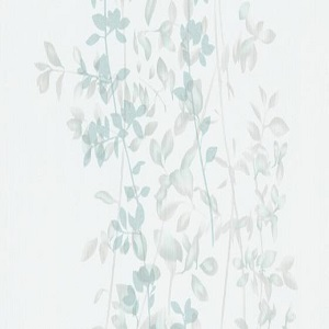 Papel de Parede folhas azul claro 10047-18