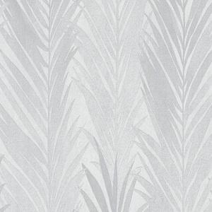 Papel de Parede folhas palmadas branco 10031-10