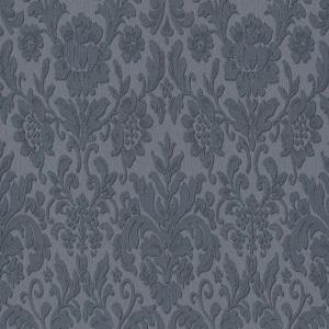Papel de parede arabesco azul escuro 6378-08