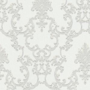 Papel de parede arabesco cinza claro 6376-01