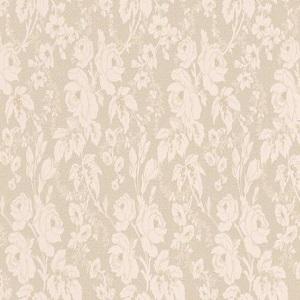 Papel de parede flores em bege 6379-02