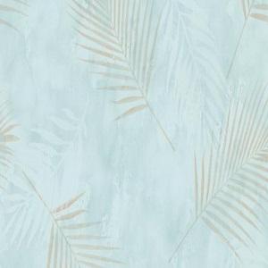 Papel de parede folhas palmeira verde 02579-18