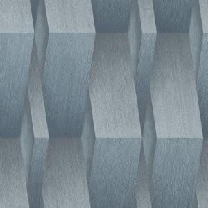 Papel de parede ondulado cinza prateado 10046-08