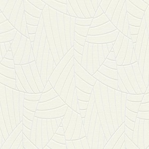 Papel de parede folhas palmeira branco 5427-01