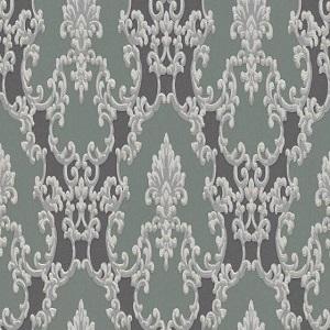 Papel de parede arabesco verde musgo 6376-18