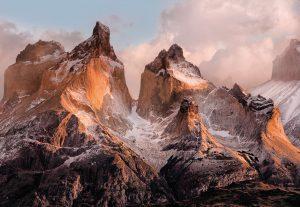 Painel Fotográfico Torres del Painel nas Cordilheiras chilena/ Ref: 4-530 2.54m Largura x 1.84m Altura