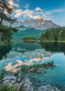 Painel Fotográfico Mirror Lake/ Ref: 4-537 1.84m Largura x 2.54m Altura