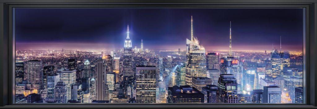 Painel Fotográfico Área Urbana da Metrópole dos EUA 4-877