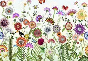 Painel Fotográfico com imagens de Flores e Flora   Ref: 8-200