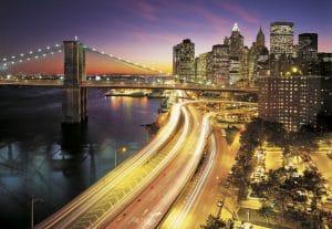 Painel fotográfico New York City / Ref: 8-516 3.68m Largura x 2.54m Altura